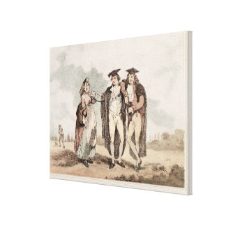 Bucks of the First Head Canvas Print
