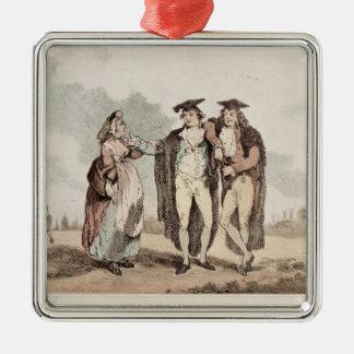 Bucks of the First Head Christmas Ornament