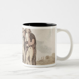 Bucks of the First Head Two-Tone Coffee Mug