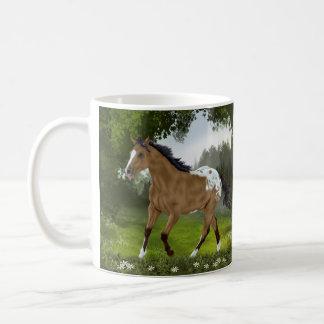 Buckskin Appaloosa Horse Coffee Mug