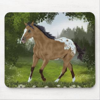 Buckskin Appaloosa Horse Mouse Mat