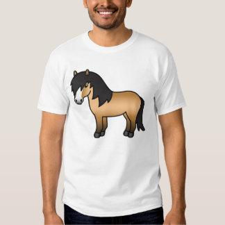 Buckskin Cartoon Shetland Pony Tees