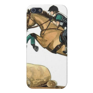 Buckskin Eventing Equestrian iPhone 5/5S Covers