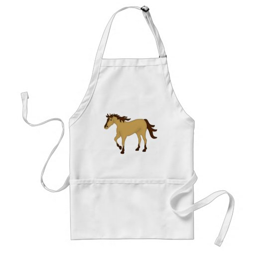 Buckskin Horse Apron
