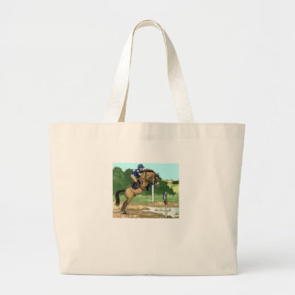 """Buckskin Horse Art """"Don't get toes wet"""" Tote Bags"""