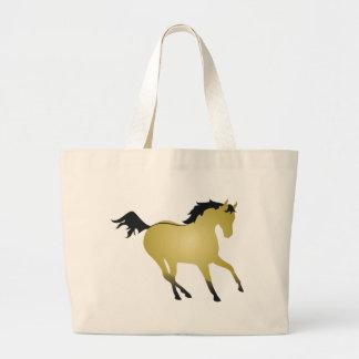 Buckskin Horse Bags