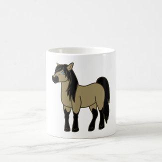 Buckskin Horse Basic White Mug