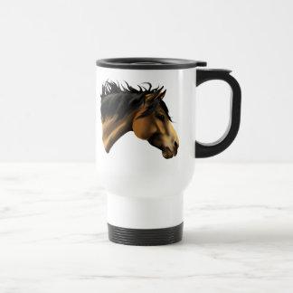 Buckskin Horse Face Mug