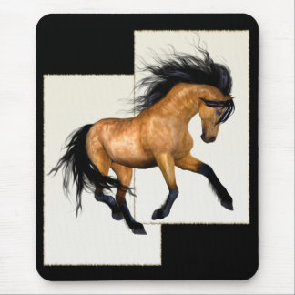 Buckskin Horse Mouse Pad