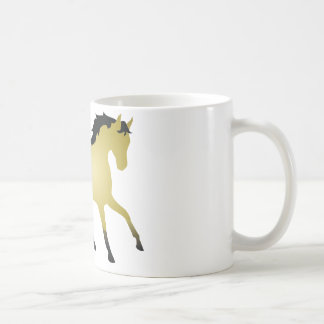 Buckskin Horse Coffee Mugs