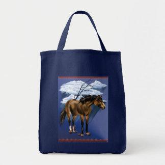 Buckskin Horse Poster Bag