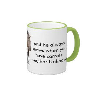 Buckskin Love Ringer Coffee Mug