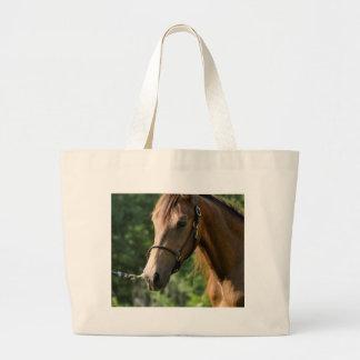 Buckskin Morgan Horse Tote Bag