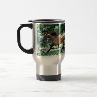 Buckskin Morgan Horse Stainless Steel Travel Mug
