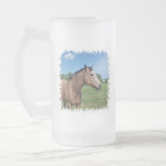 Buckskin Mustang Beer Mug
