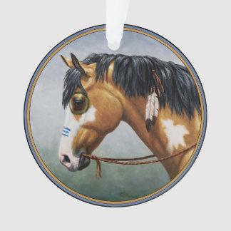 Buckskin Pinto Native American War Horse
