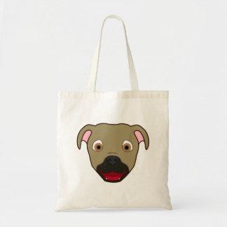 Buckskin Pitbull Budget Tote Bag