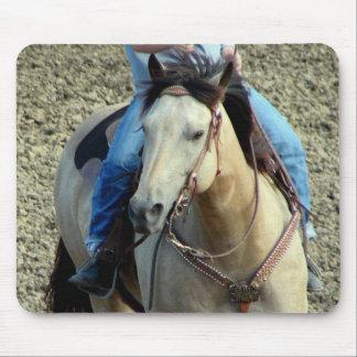 Buckskin Rodeo Horse Mousepad