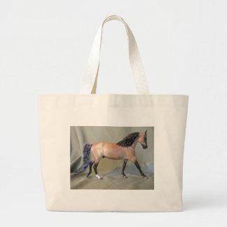 Buckskin Stallion Jumbo Tote Bag