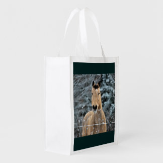 Buckskin Winter Grocery Bag