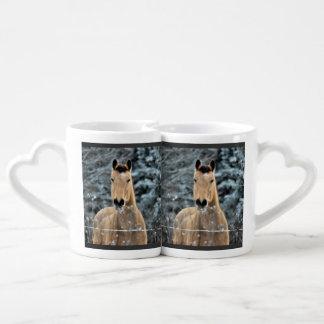 Buckskin  Winter Lovers Mug