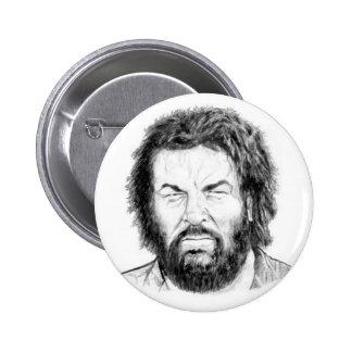 bud spencer II 6 Cm Round Badge