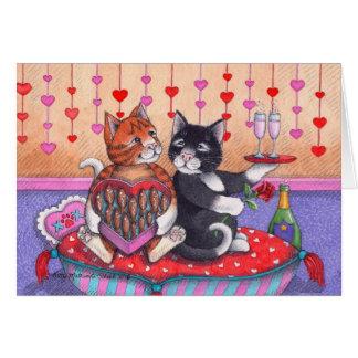 Bud & Tony #74 Valentine's Day Notecard Note Card