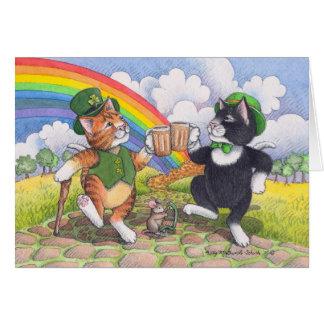Bud & Tony #77 St. Patrick's Day Notecard Note Card