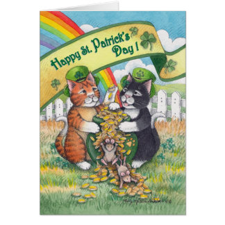 Bud & Tony #78 St. Patrick's Day Notecard Note Card