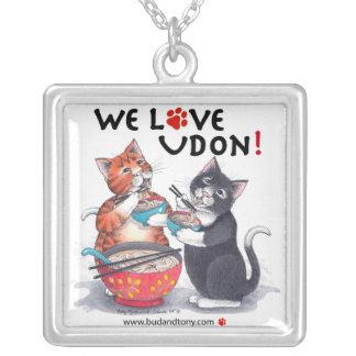 Bud & Tony Cats We Love Udon Necklace