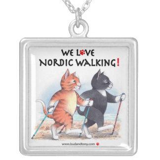 Bud & Tony Nordic Walking Necklace