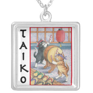 Bud & Tony Taiko Square Necklace