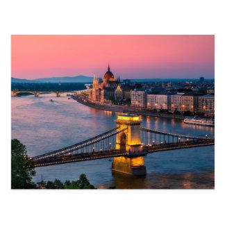 Budapest 002A Postcard