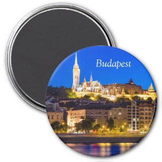 BUDAPEST 7.5 CM ROUND MAGNET
