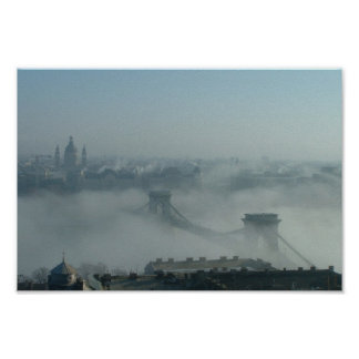 Budapest and the Danube Poster
