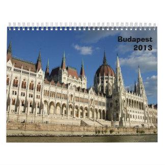 Budapest Architectural Calendar - 2013
