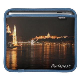 Budapest at Night iPad Sleeve