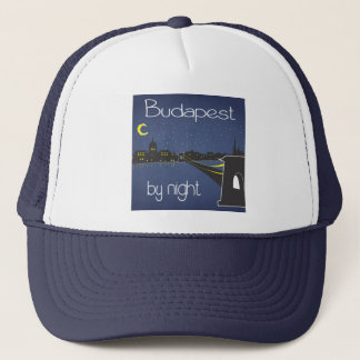 Budapest by Night Trucker Hat