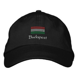 Budapest Cap - Hungarian Flag Hat