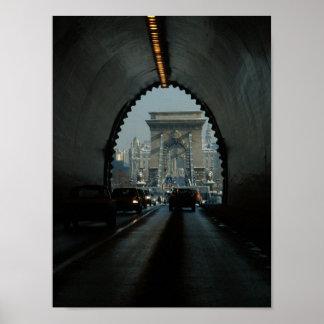 Budapest Chain Bridge Print