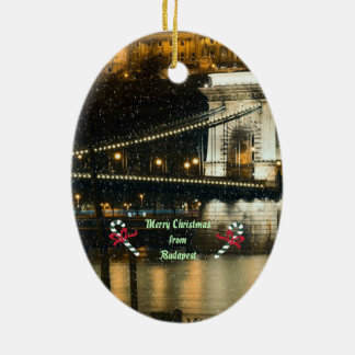Budapest Christmas Christmas Ornament