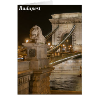 Budapest, Hungary Card