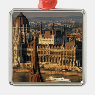 Budapest, Hungary, Danube River, Parliament Christmas Ornament