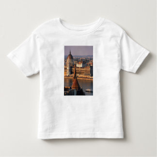 Budapest, Hungary, Danube River, Parliament Toddler T-Shirt