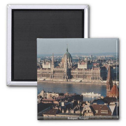 Budapest, Hungary Refrigerator Magnets
