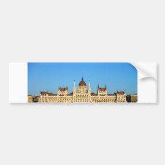 budapest hungary parliament palace architecture bumper sticker