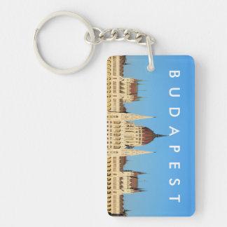 budapest hungary parliament palace architecture key ring