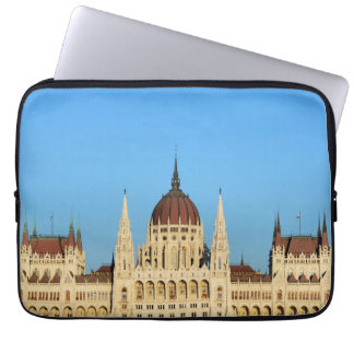 budapest hungary parliament palace architecture laptop sleeve