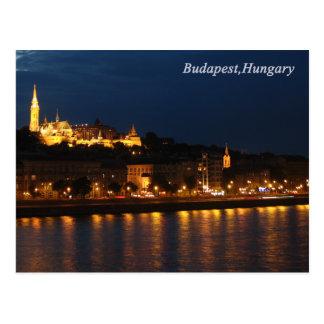 Budapest,Hungary Postcard