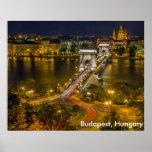 Budapest, Hungary Poster